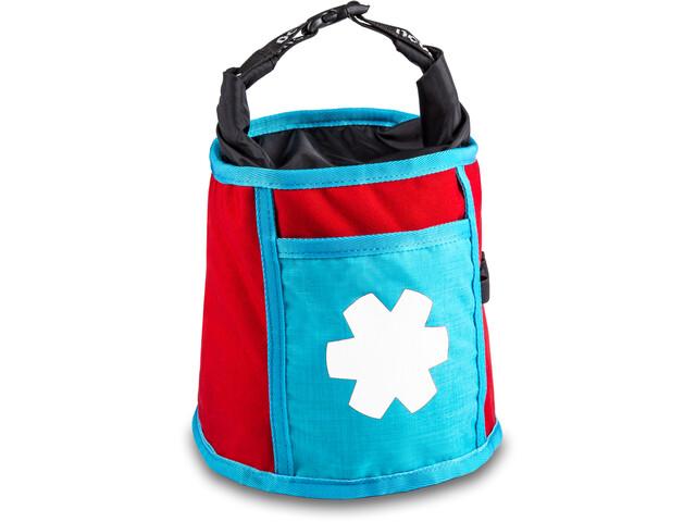 Ocun Boulder Bag, czerwony/turkusowy